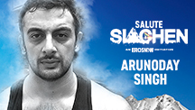 Arunoday Singh - Salute Siachen | An Eros Now Original Series