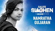 Namratha Gujaran - Salute Siachen | An Eros Now Original Series