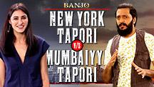 Tapori Standoff With Riteish & Nargis | Banjo