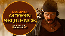 Making Of Action Sequence | Banjo