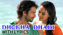 Dhokha Dhadi - With Lyrics | R... Rajkumar