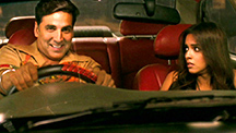 A joy ride with Khiladi