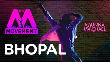 The M Movement - Tiger Shroff flags it off for Bhopal!