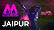 The M Movement - Tiger Shroff flags it off for Jaipur!