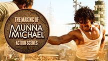 The Making Of Munna Michael Action Scenes