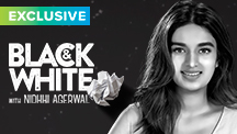 Exclusive - Black & White Interview - Nidhhi Agerwal