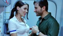 Saif Flirting With An Air Hostess