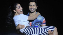 Varun and Yami promote 'Badlapur' at National College