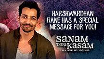 Harshwardhan Rane Has A Special Message For You