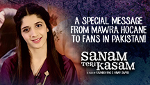 A Special Message From Mawra Hocane To Fans In Pakistan