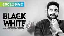 Exclusive - Black & White Interview With Abhishek Bachchan