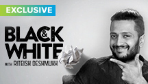 Exclusive - Black & White Interview With Riteish Deshmukh