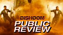 Dishoom - Public Review