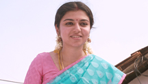 Raveena invites the villagers