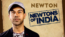 Rajkummar Rao celebrates 'Newtons of India'