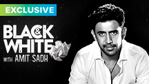 Catch Amit Sadh on Black & White - The Interview