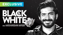 Exclusive Black & White - Harshvardhan Kapoor