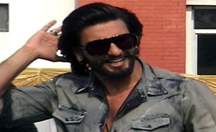 Ranveer Singh visits Lucknow for the promotion of 'Goliyon Ki Raasleela Ram-leela'