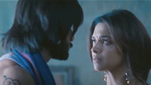 Ram and Leela's intense emotional moment