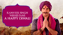Ranveer Singh Wishes Fans A Happy Diwali