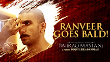 Ranveer Goes Bald