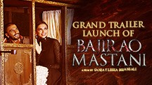 Grand Launch of Bajirao Mastani Trailer
