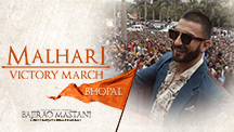 Malhari Victory March - Malhari hits Bhopal