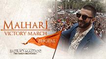 Malhari Victory March - Malhari hits Bhopal