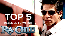 Top 5 Reasons to Watch Ra. One