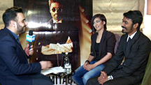 Dhanush and Akshara take us through their Shamitabh journey