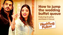 How to jump the wedding buffet queue