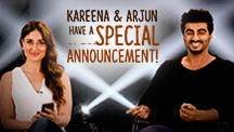 Kareena Kapoor and Arjun Kapoor Have A Special Announcement!