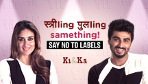 Say No To Labels, Be Happy Everyday! Happy Women's Day from Ki & Ka!