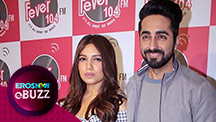 Ayushmann & Bhumi promote Kanha unplugged