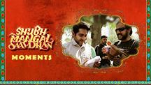 Shubh Mangal Saavdhan Moments - On Location Making