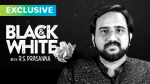 Exclusive - Black & White - R S Prasanna
