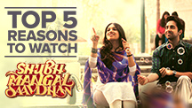 Top 5 Reasons to Watch Shubh Mangal Saavdhan