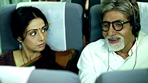 Shashi's co-passenger is an interesting man!