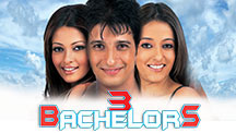 Watch 3 Bachelors full movie Online - Eros Now