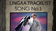 Lingaa Tracklist Teaser - Oh Nanba - Song No. 1