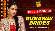 Do's & Dont's For A Runaway Brides