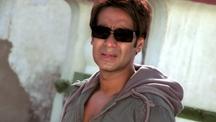 Ajay Devgn chasing goon