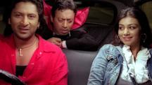 Arshad Warsi and Irrfan Khan give a lift to drunk Ayesha Takia