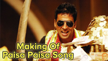 Making Of Paisa Paisa Song