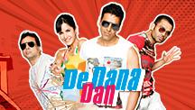 Watch De Dana Dan full movie Online - Eros Now