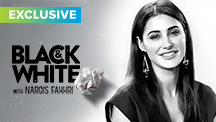 Exclusive - Black & White Interview With Nargis Fakhri