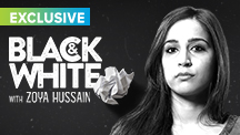 Exclusive Black & White - Zoya Hussain