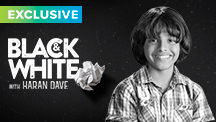Exclusive Black & White - Karan Dave