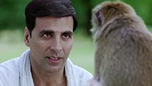 A monkey slaps Aarush!