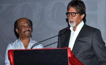 Amitabh Bachchan praises Rajinikanth